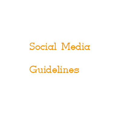 Workshop Social Media Guidelines