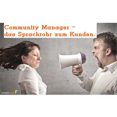 Vortrag über Community Management von Ute Klingelhöfer beim Social Media Club Karlsruhe