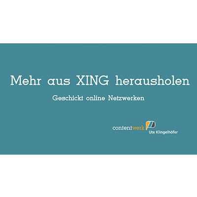 Vortrag von Ute Klingelhöfer zu XING
