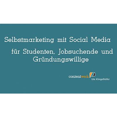 Vortrag Selbstmarketing mit Social Media mit Ute Klingelhöfer