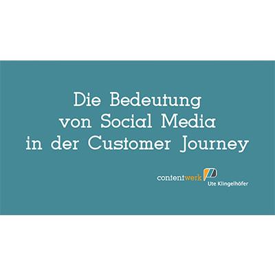 Vortrag in Karlsruhe von Ute Klingelhöfer zur Bedeutung von Social Media in der Customer Journey