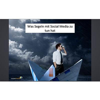 Social Media Vortrag von Ute Klingelhöfer, geeignet für Einsteiger
