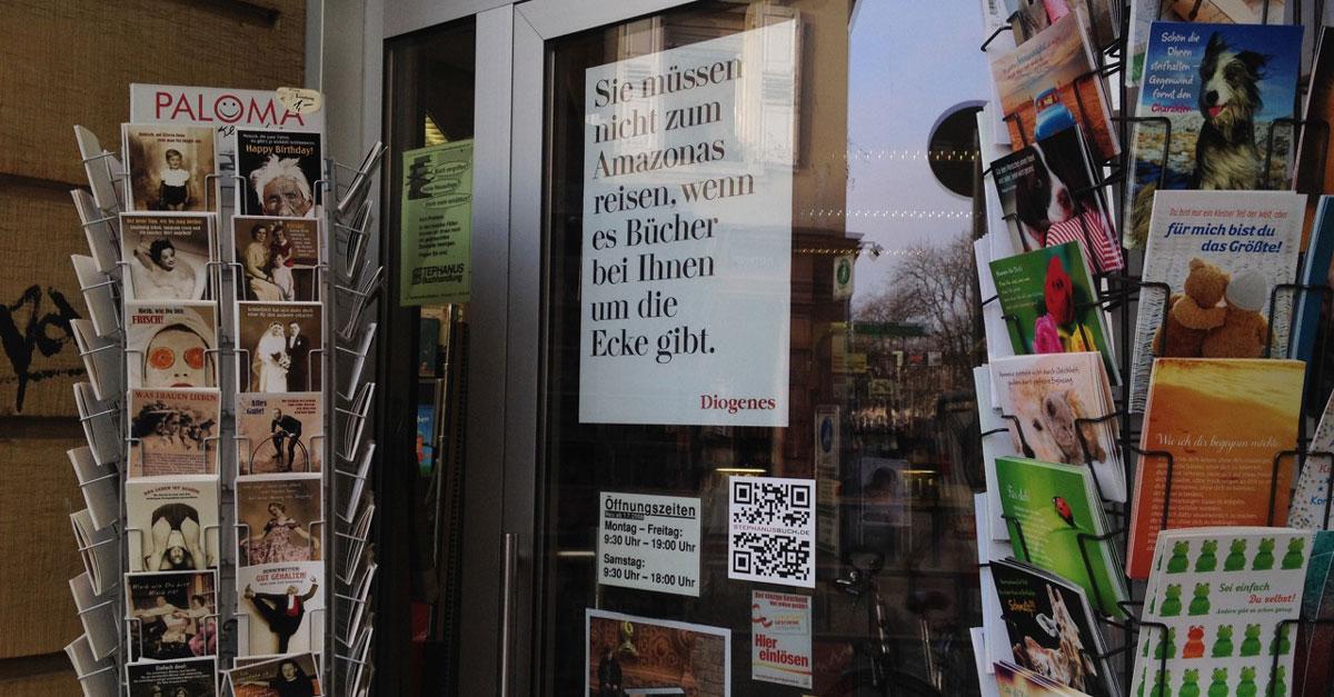Buchhandlung in Karlsruher Innenstadt