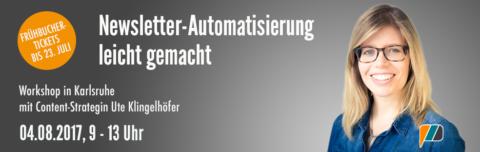 Newsletter Seminar in Karlsruhe von Ute Klingelhöfer